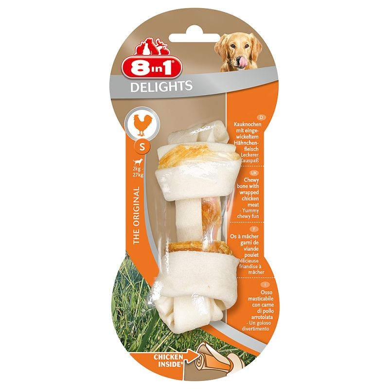 8in1 Delights Chicken Bone S