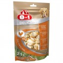 8in1 Delights Chicken Bone XS 14uni