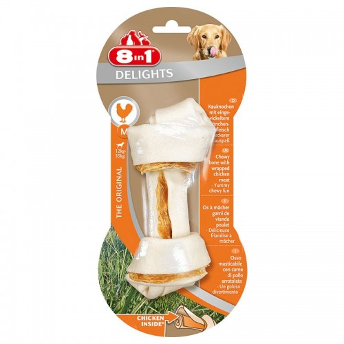 8in1 Delights Chicken Bone M